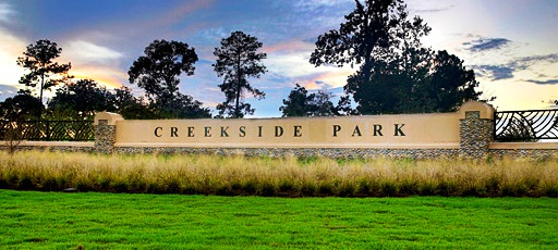 The Village Of Creekside Park Is Newest Development Project Currently Underway For Woodlands A 3492 Acre Located South